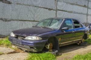 get rid of scrap car